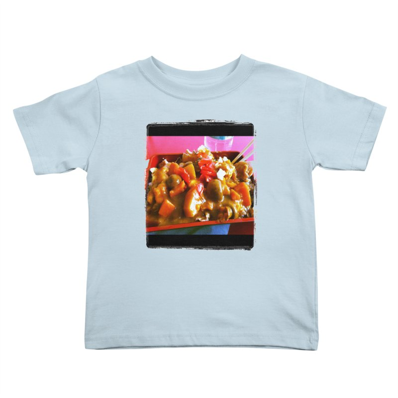Curry in a Hurry. Kids Toddler T-Shirt by terryann's Artist Shop