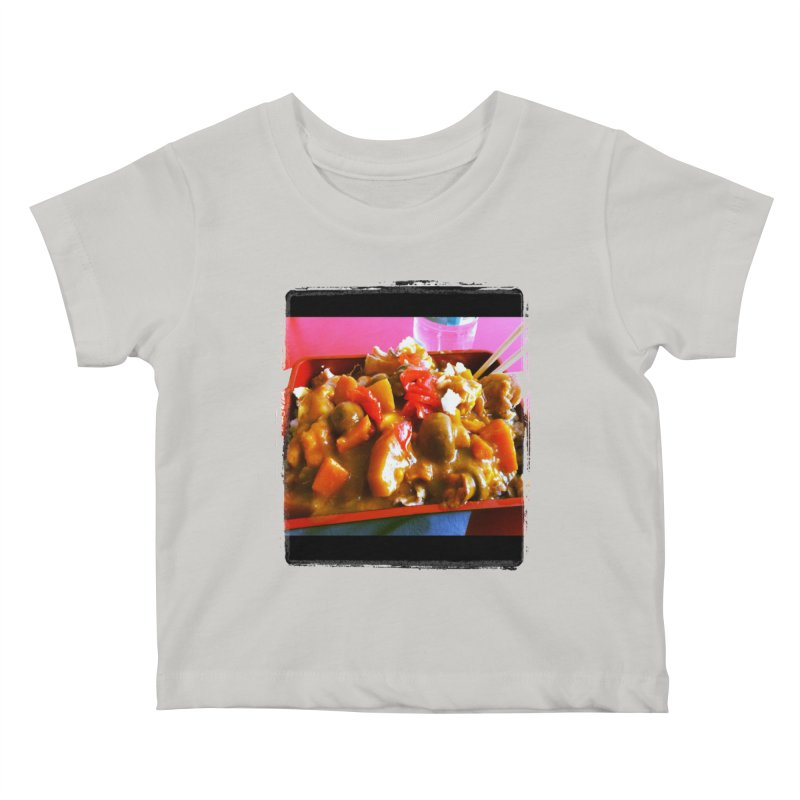 Curry in a Hurry. Kids Baby T-Shirt by terryann's Artist Shop