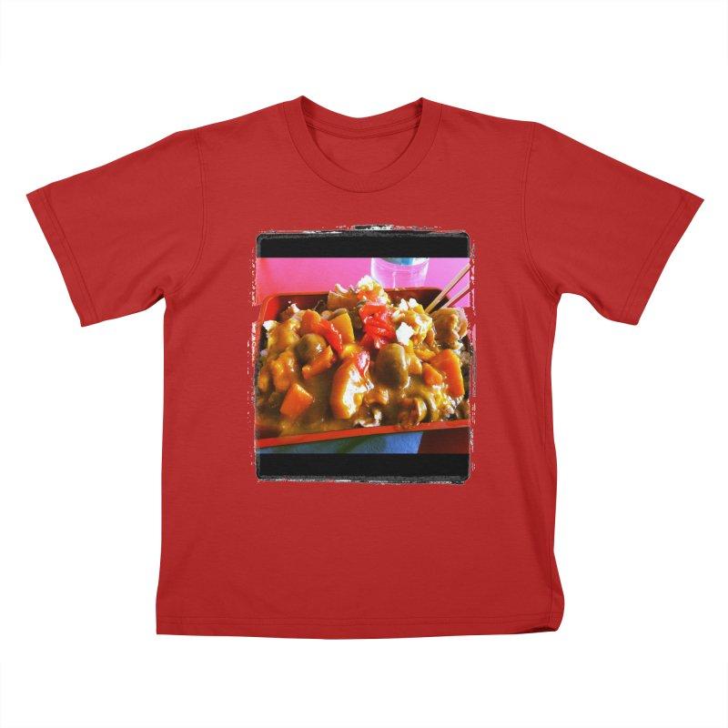 Curry in a Hurry. Kids T-shirt by terryann's Artist Shop