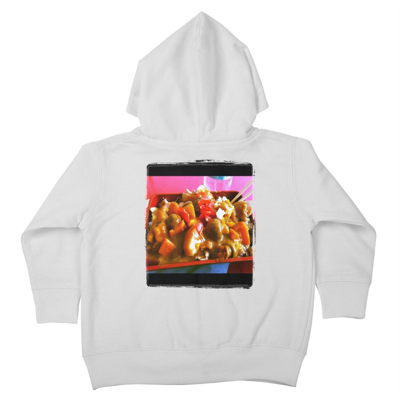 Curry in a Hurry. Kids Toddler Zip-Up Hoody by terryann's Artist Shop
