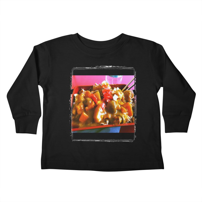 Curry in a Hurry. Kids Toddler Longsleeve T-Shirt by terryann's Artist Shop