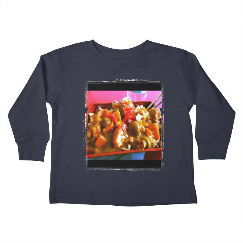 Curry in a Hurry. Kids Toddler Longsleeve T-Shirt by terryann's Artist Shop