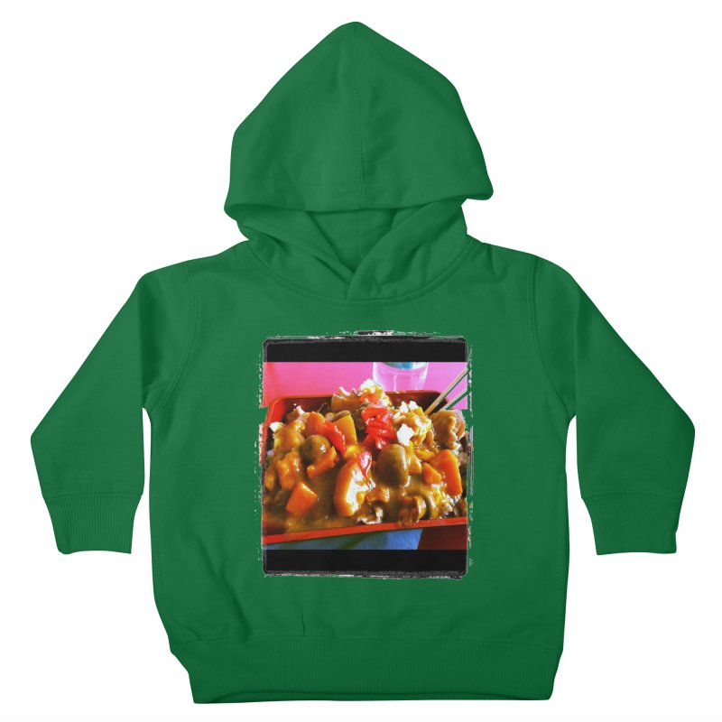 Curry in a Hurry. Kids Toddler Pullover Hoody by terryann's Artist Shop
