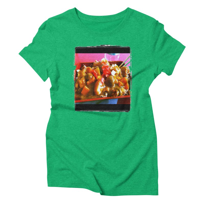 Curry in a Hurry. Women's Triblend T-Shirt by terryann's Artist Shop