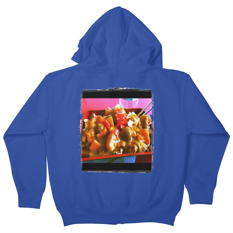Curry in a Hurry. Kids Zip-Up Hoody by terryann's Artist Shop