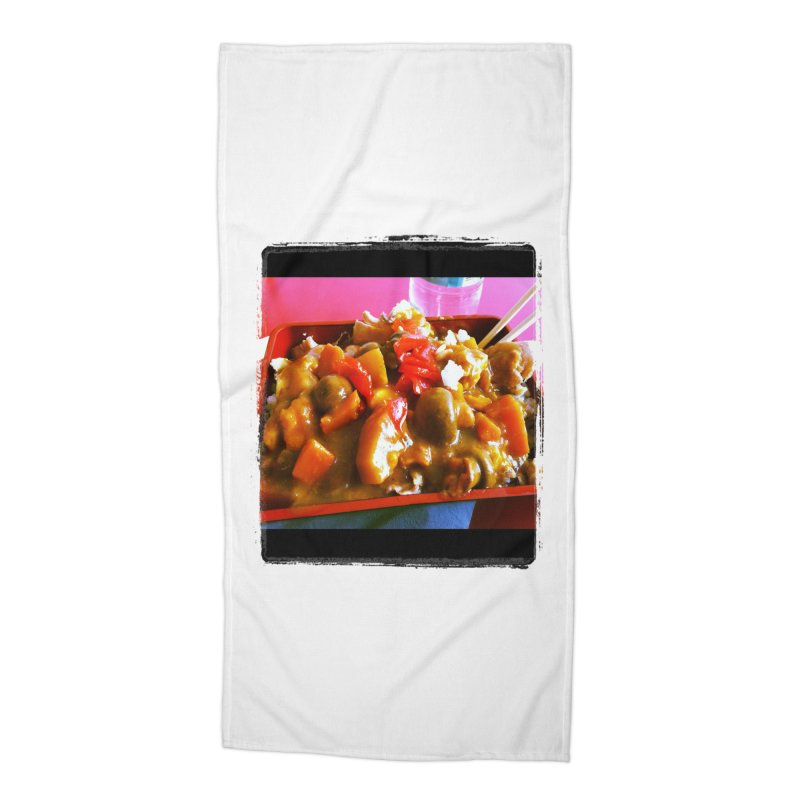 Curry in a Hurry. Accessories Beach Towel by terryann's Artist Shop