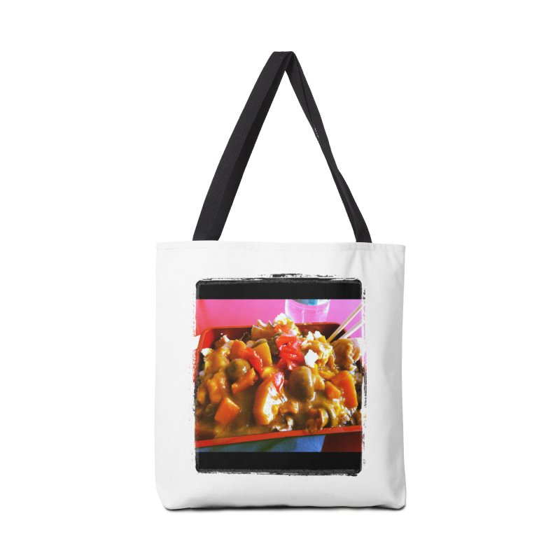 Curry in a Hurry. Accessories Bag by terryann's Artist Shop