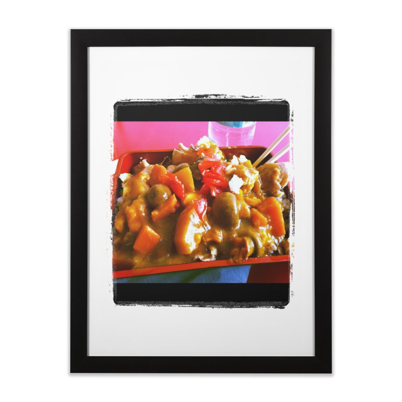 Curry in a Hurry. Home Framed Fine Art Print by terryann's Artist Shop