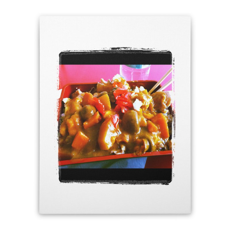 Curry in a Hurry. Home Stretched Canvas by terryann's Artist Shop