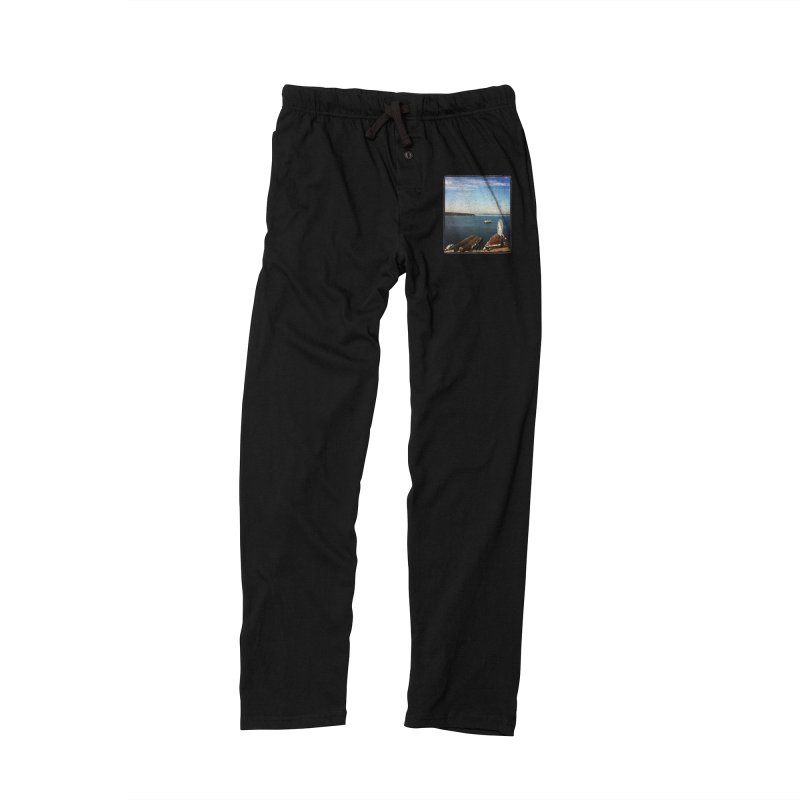 The Perfect Seattle Day, Ferry, and the Great Wheel Women's Lounge Pants by terryann's Artist Shop