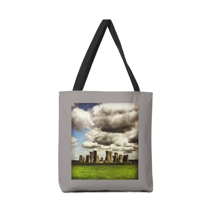 Stonehenge in Spring Accessories Bag by terryann's Artist Shop