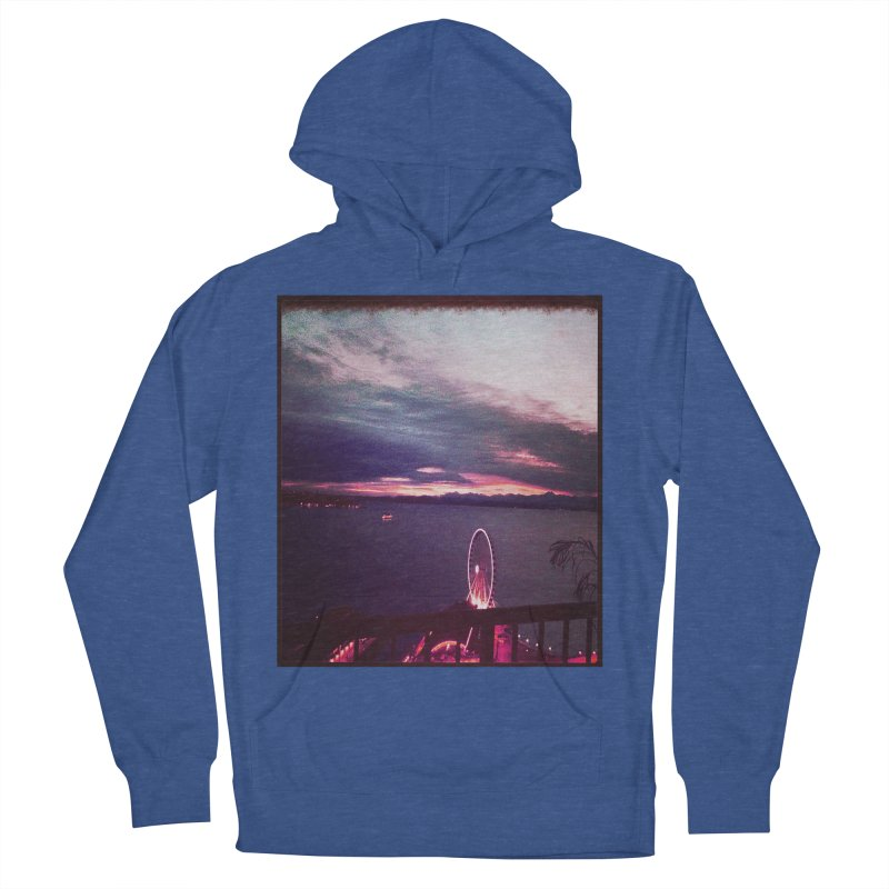 Seattle Sunset Wheel - Seattle Vibe Women's Pullover Hoody by terryann's Artist Shop