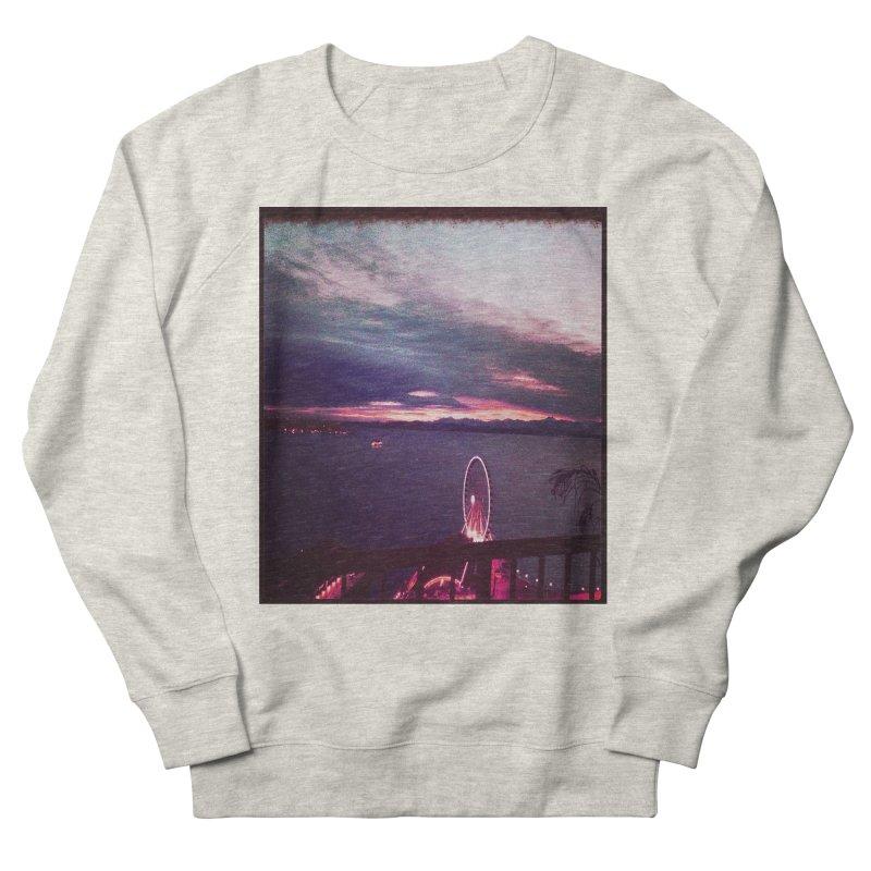 Seattle Sunset Wheel - Seattle Vibe Women's Sweatshirt by terryann's Artist Shop