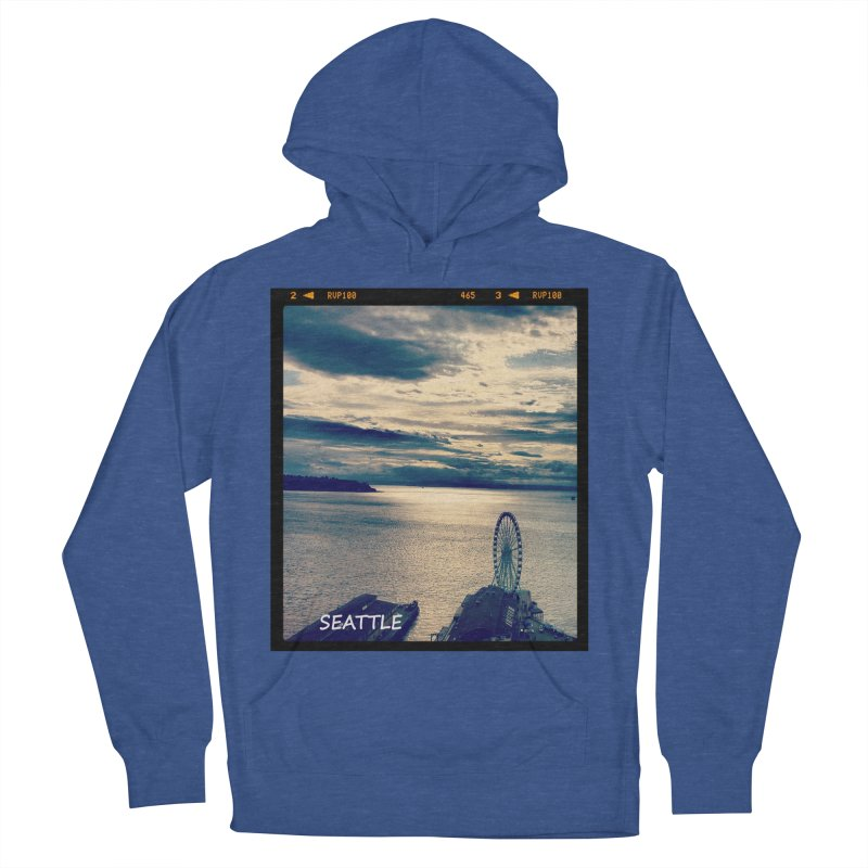 Blue Seattle - you have been there. Women's Pullover Hoody by terryann's Artist Shop