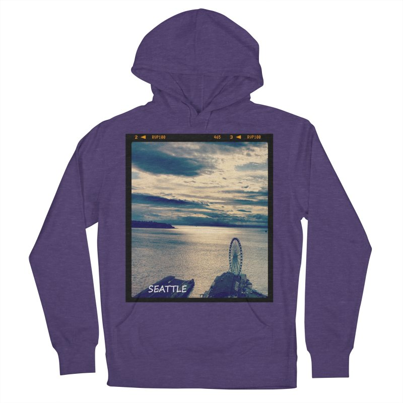 Blue Seattle - you have been there. Men's Pullover Hoody by terryann's Artist Shop