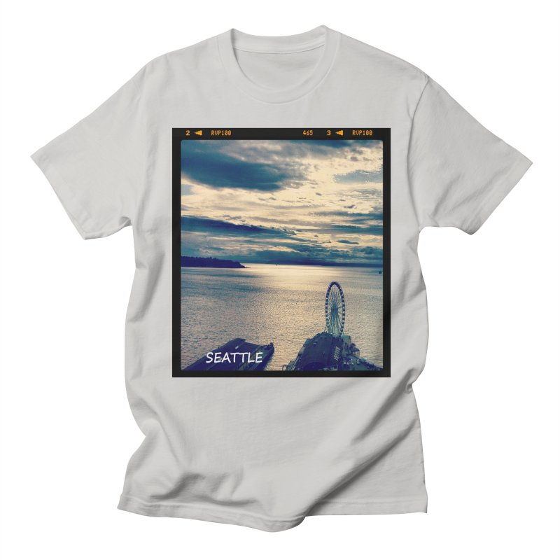 Blue Seattle - you have been there. Women's Unisex T-Shirt by terryann's Artist Shop