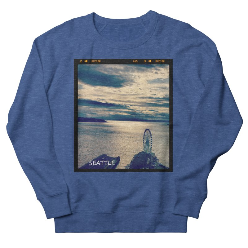 Blue Seattle - you have been there. Women's Sweatshirt by terryann's Artist Shop