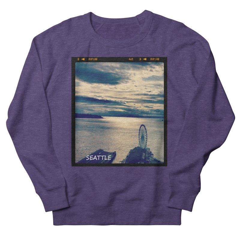 Blue Seattle - you have been there. Men's Sweatshirt by terryann's Artist Shop
