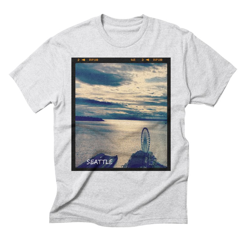 Blue Seattle - you have been there. Men's Triblend T-Shirt by terryann's Artist Shop