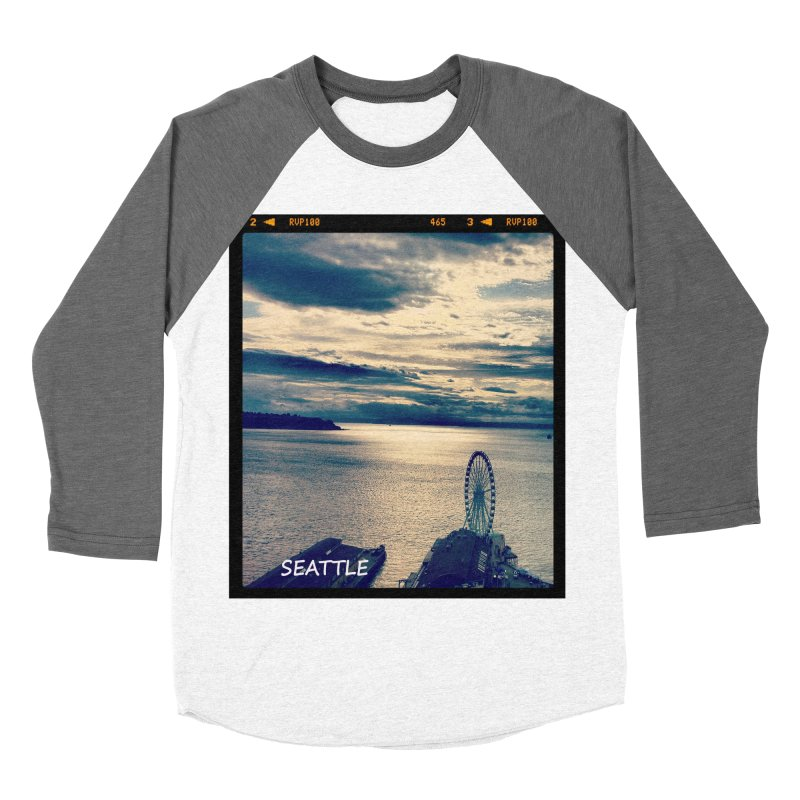 Blue Seattle - you have been there. Women's Baseball Triblend T-Shirt by terryann's Artist Shop