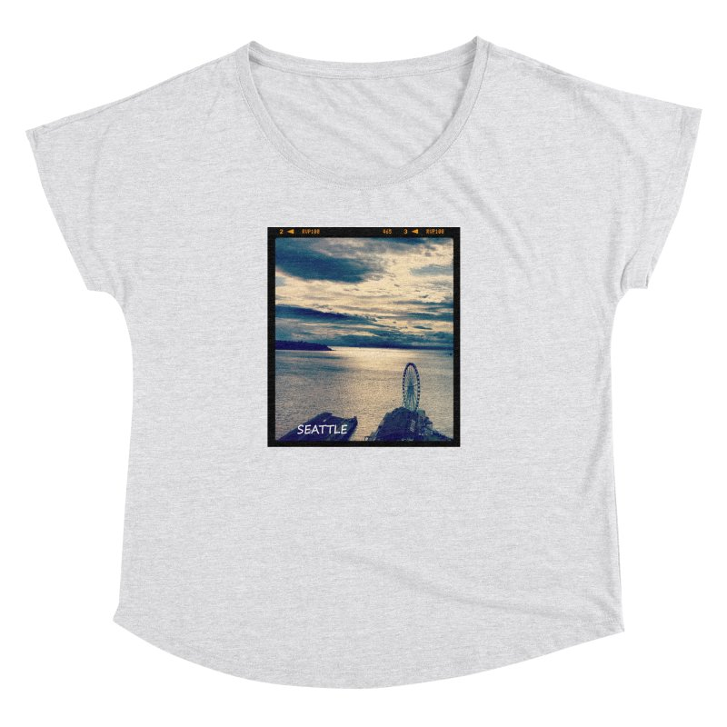 Blue Seattle - you have been there. Women's Dolman by terryann's Artist Shop