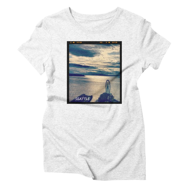 Blue Seattle - you have been there. Women's Triblend T-shirt by terryann's Artist Shop