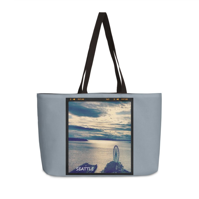 Blue Seattle - you have been there.   by terryann's Artist Shop