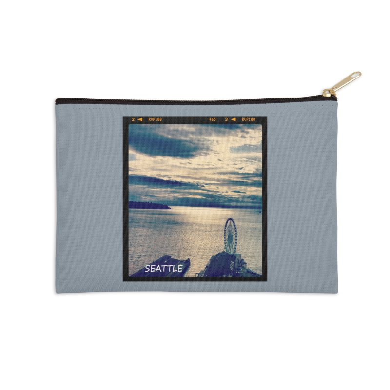 Blue Seattle - you have been there. Accessories Zip Pouch by terryann's Artist Shop