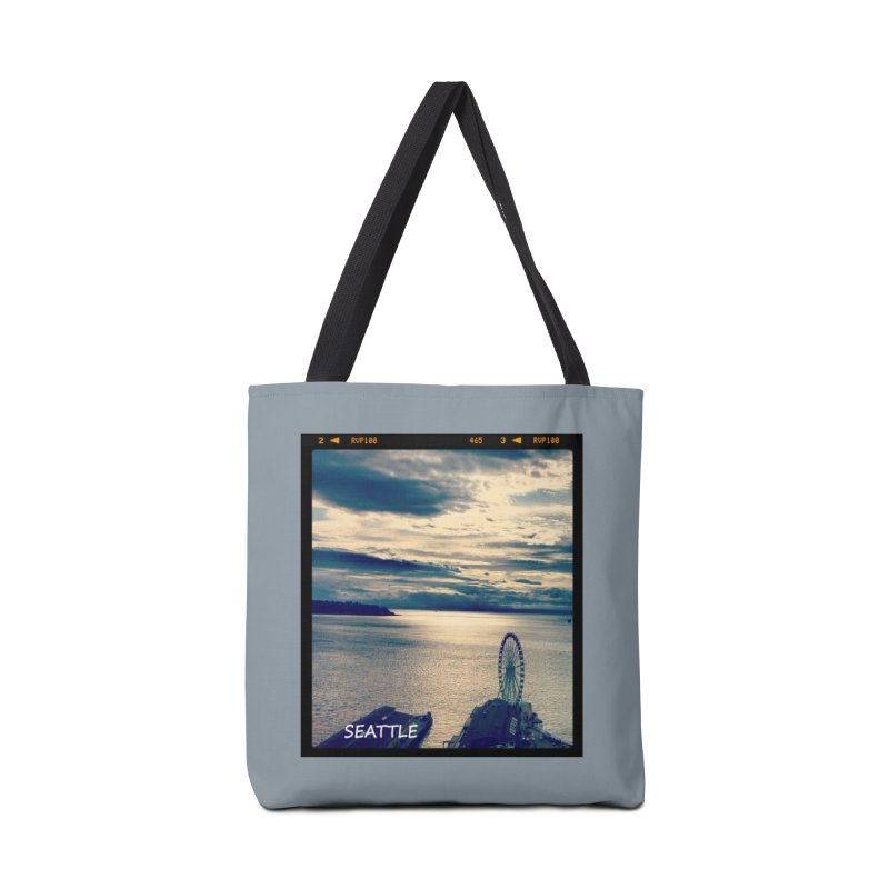 Blue Seattle - you have been there. Accessories Bag by terryann's Artist Shop