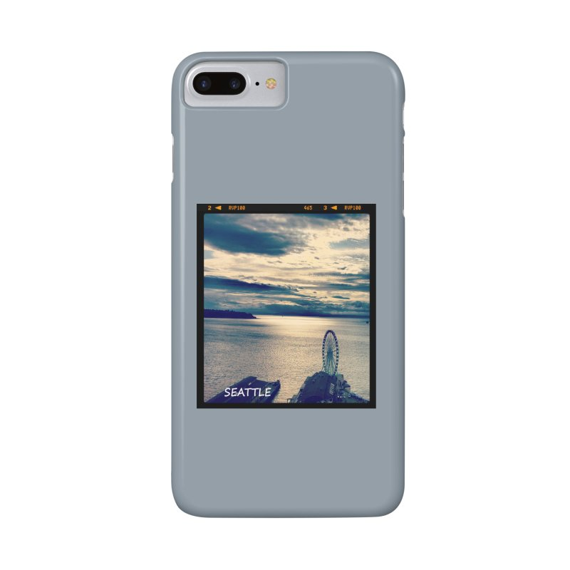 Blue Seattle - you have been there. Accessories Phone Case by terryann's Artist Shop