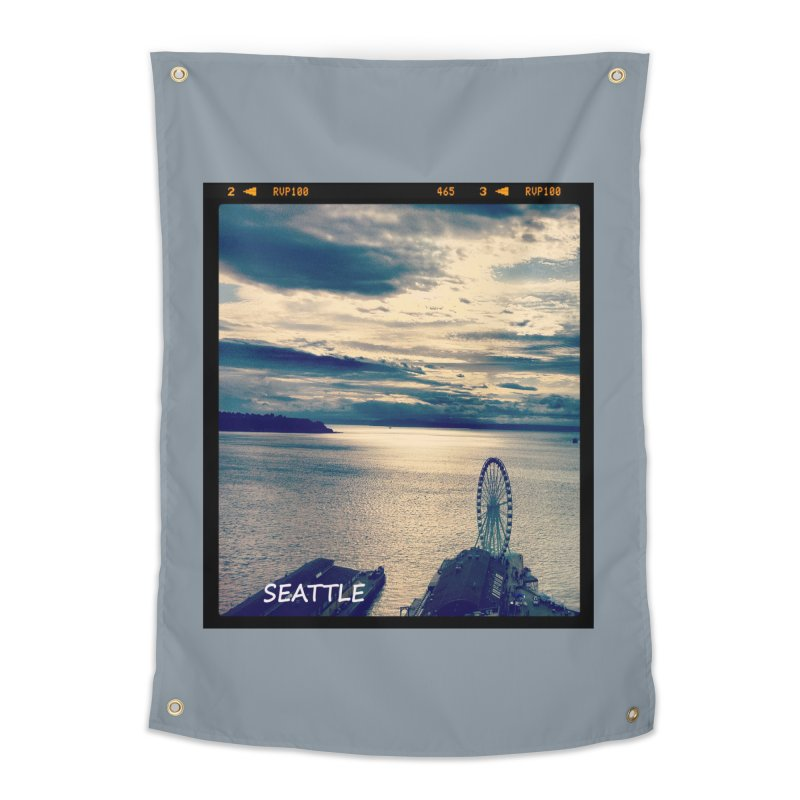 Blue Seattle - you have been there. Home Tapestry by terryann's Artist Shop