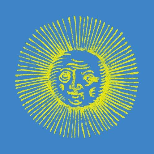 Design for Distressed Bright Yellow Sun