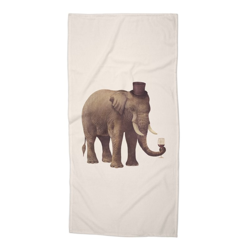 A Very Fine Vintage Accessories Beach Towel by terryfan
