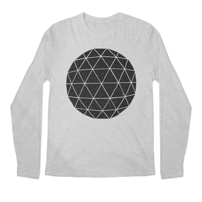 Geodesic Men's Longsleeve T-Shirt by terryfan