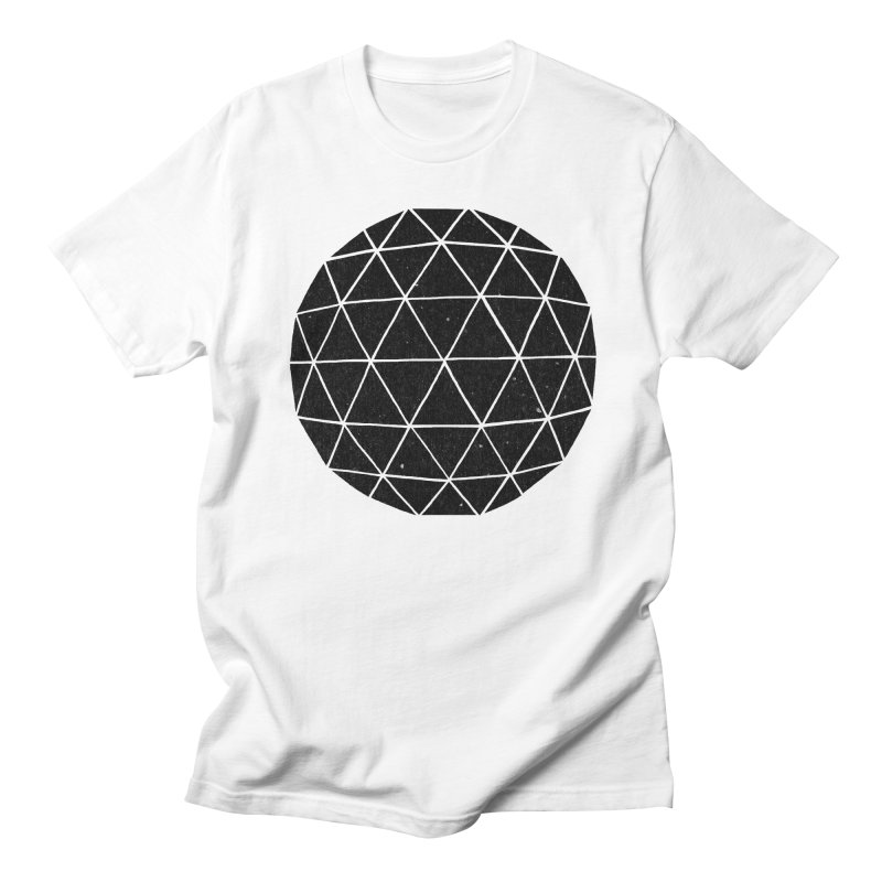 Geodesic in Men's T-Shirt White by terryfan