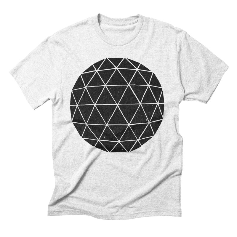 Geodesic Men's Triblend T-shirt by terryfan