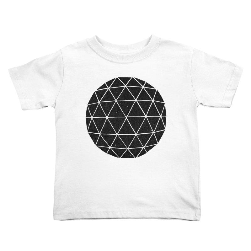 Geodesic Kids Toddler T-Shirt by terryfan