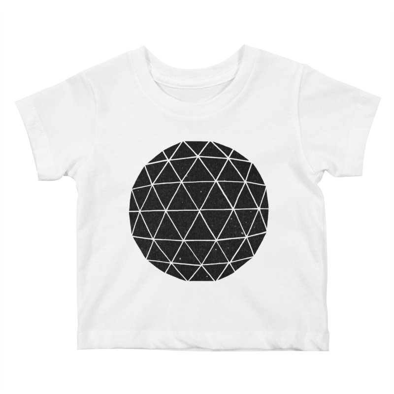 Geodesic Kids Baby T-Shirt by terryfan