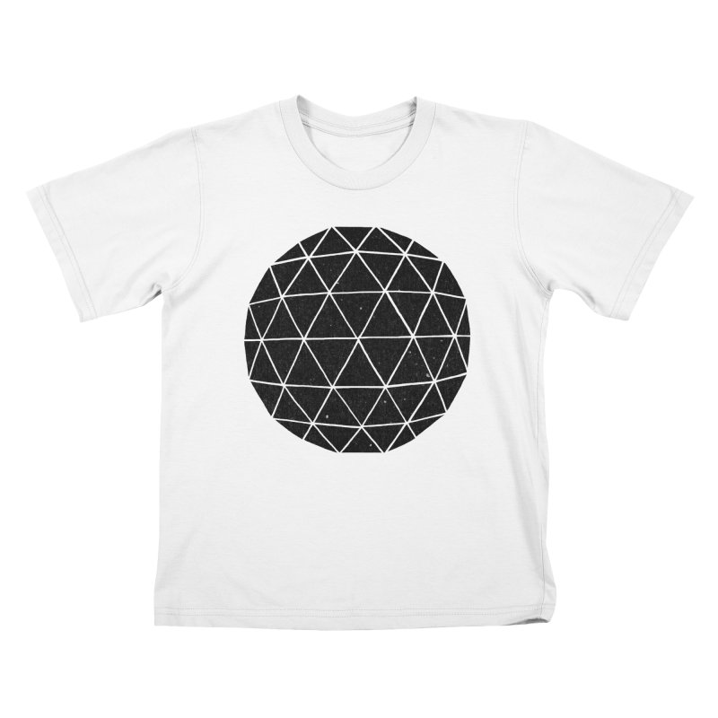 Geodesic Kids T-shirt by terryfan