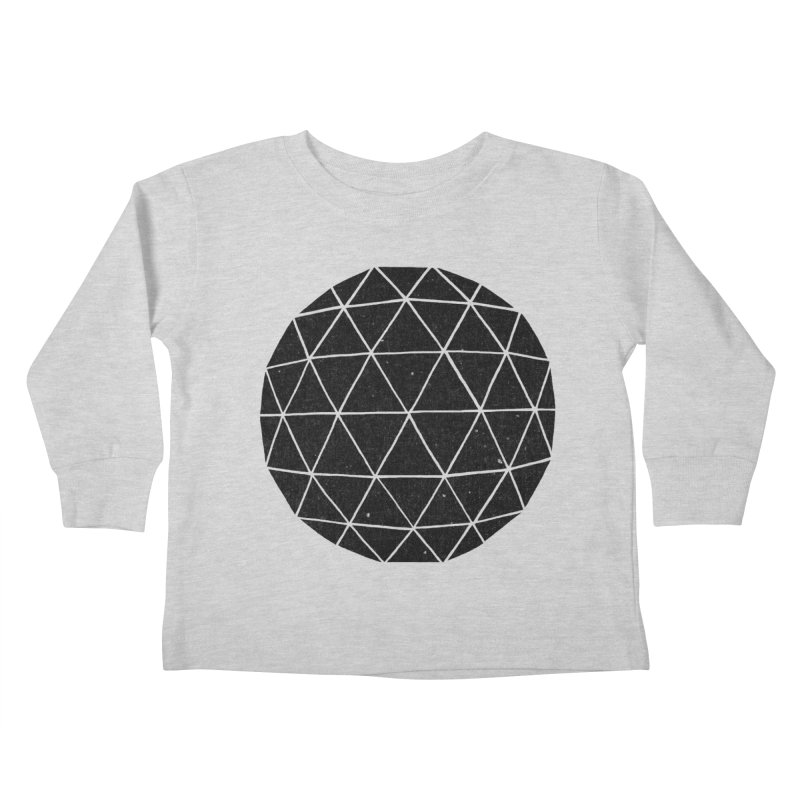 Geodesic Kids Toddler Longsleeve T-Shirt by terryfan