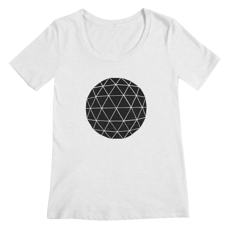 Geodesic Women's Scoopneck by terryfan
