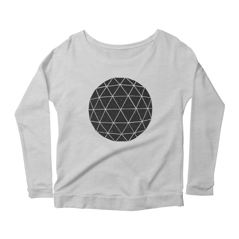 Geodesic Women's Longsleeve Scoopneck  by terryfan