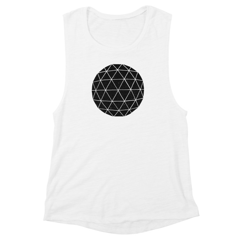 Geodesic Women's Muscle Tank by terryfan