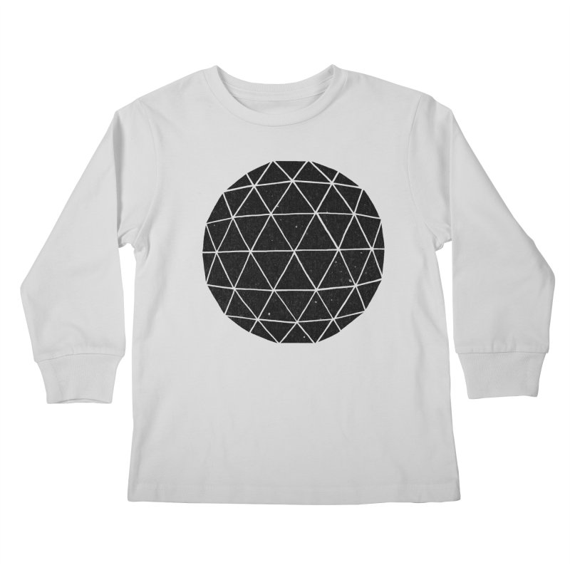 Geodesic Kids Longsleeve T-Shirt by terryfan