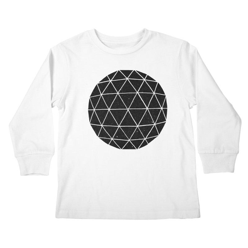 Geodesic Kids Longsleeve T-Shirt by terryfan
