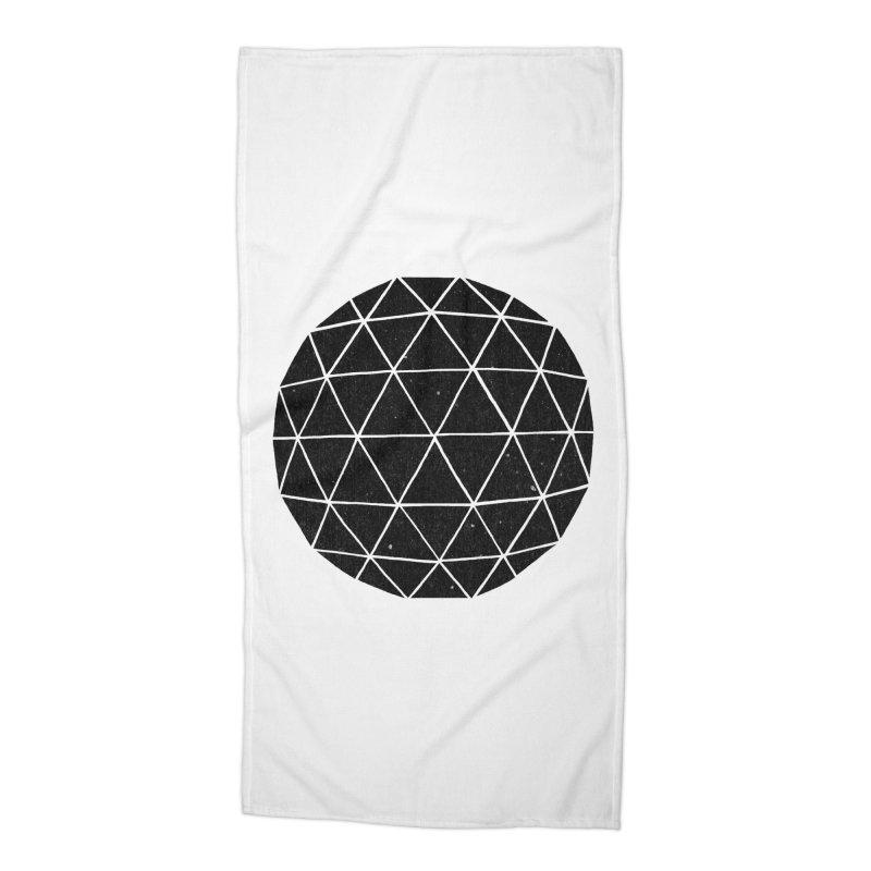 Geodesic Accessories Beach Towel by terryfan