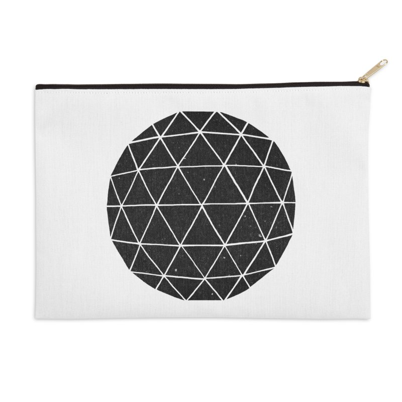Geodesic Accessories Zip Pouch by terryfan