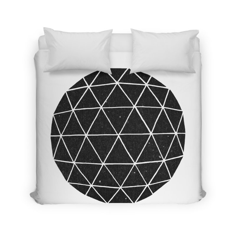 Geodesic Home Duvet by terryfan