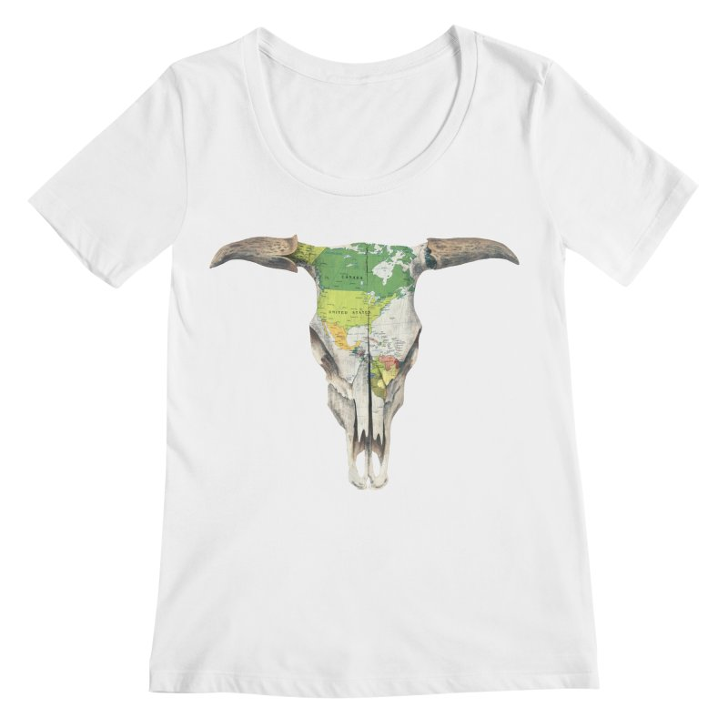 Go West Women's Scoopneck by terryfan