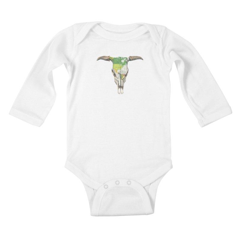 Go West Kids Baby Longsleeve Bodysuit by terryfan